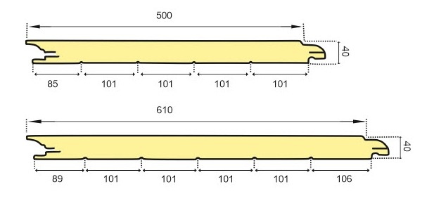 Vartų segmento schema 3