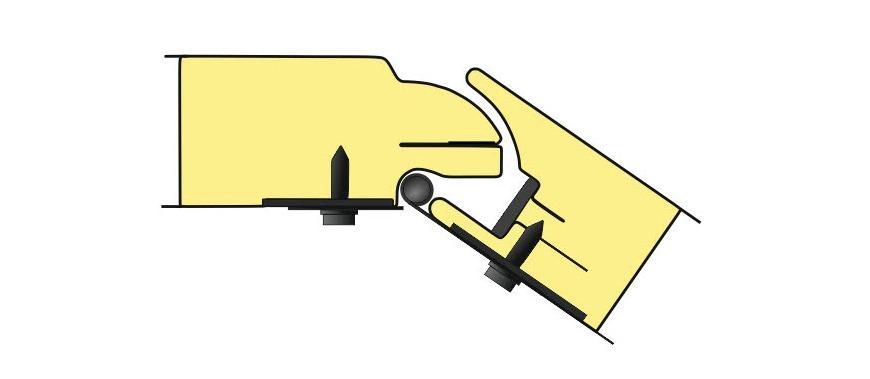 Vartų segmento schema