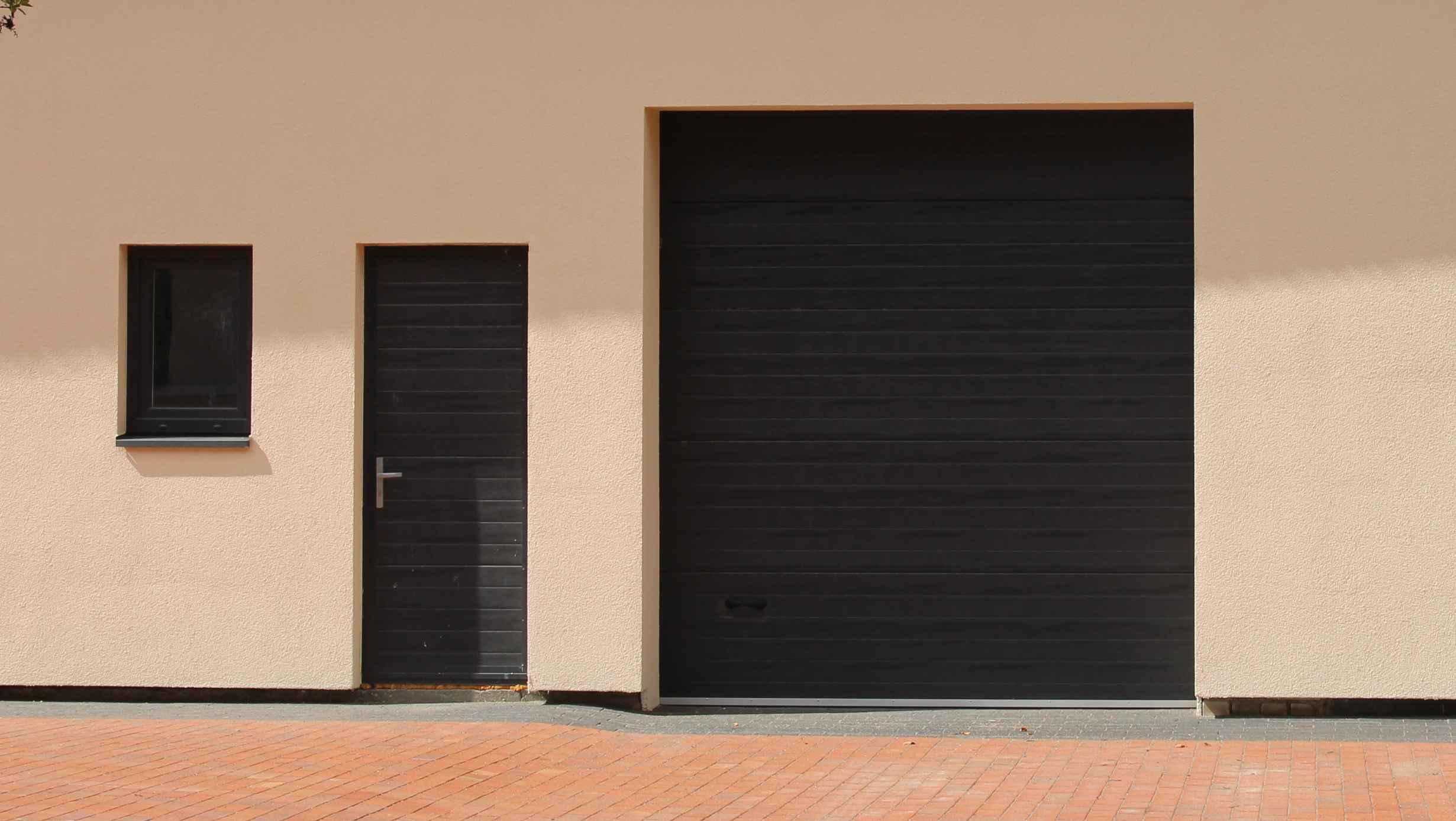 Segmentinės durys
