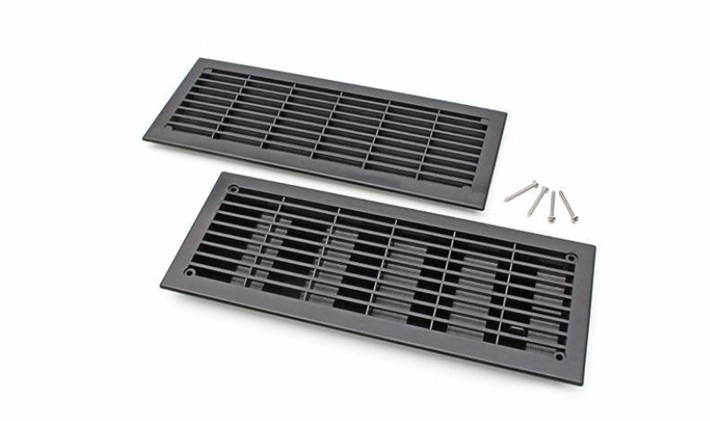 Segmentinių garažo vartų ventiliacijos grotelės