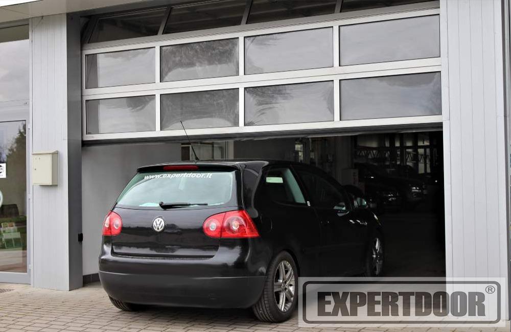 Panoraminiai garažo vartai